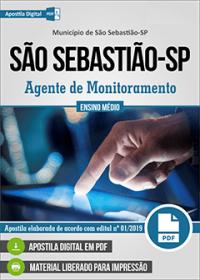 Agente de Monitoramento - Prefeitura de São Sebastião - SP