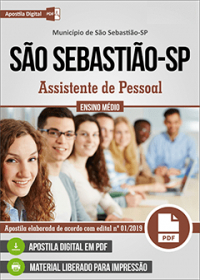 Assistente de Pessoal - Prefeitura de São Sebastião - SP