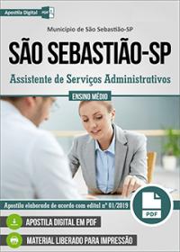 Assistente de Serviços Administrativos - Prefeitura de São Sebastião - SP