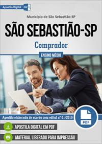 Comprador - Prefeitura de São Sebastião - SP