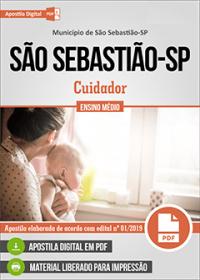 Cuidador - Prefeitura de São Sebastião - SP