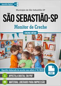 Monitor de Creche - Prefeitura de São Sebastião - SP