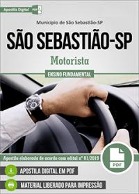 Motorista - Prefeitura de São Sebastião - SP
