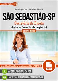 Secretário de Escola - Prefeitura de São Sebastião - SP