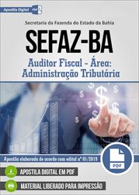 Auditor Fiscal - Administração Tributária - SEFAZ-BA