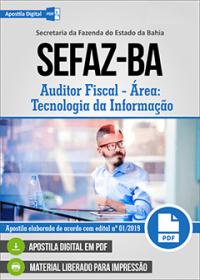 Auditor Fiscal - Tecnologia da Informação - SEFAZ-BA