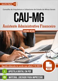 Assistente Administrativo Financeiro - CAU-MG