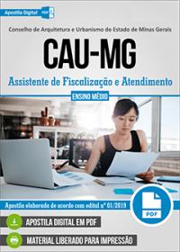 Assistente de Fiscalização e Atendimento - CAU-MG