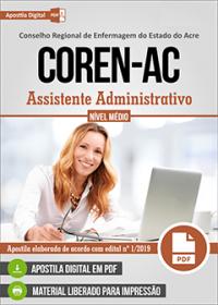 Assistente Administrativo - COREN-AC