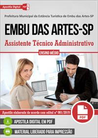 Assistente Técnico Administrativo - Prefeitura de Embu das Artes - SP