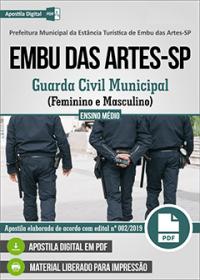 Guarda Civil Municipal - Prefeitura de Embu das Artes - SP