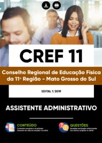 Assistente Administrativo - CREF 11ª Região - MS