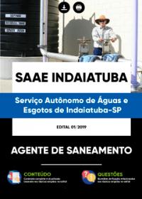 Agente de Saneamento - SAAE Indaiatuba