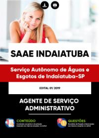 Agente de Serviço Administrativo - SAAE Indaiatuba