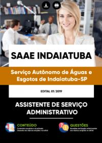 Assistente de Serviço Administrativo - SAAE Indaiatuba