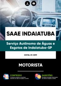 Motorista - SAAE Indaiatuba