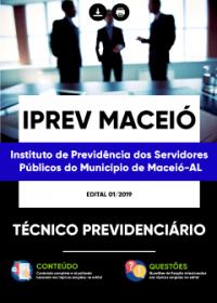 Técnico Previdenciário - IPREV Maceió - AL