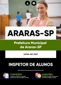 Inspetor de Alunos - Prefeitura de Araras - SP