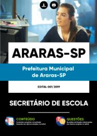 Secretário de Escola - Prefeitura de Araras - SP
