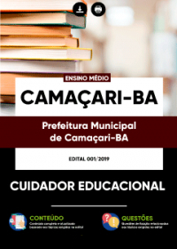 Cuidador Educacional - Prefeitura de Camaçari - BA