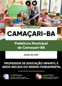 Professor - Prefeitura de Camaçari - BA