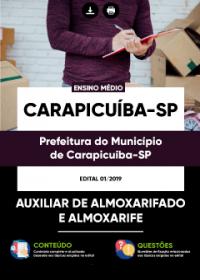 Auxiliar de Almoxarifado e Almoxarife - Prefeitura de Carapicuíba - SP