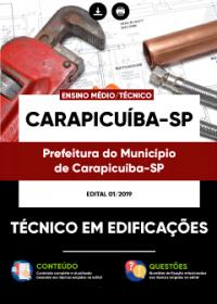 Técnico em Edificações - Prefeitura de Carapicuíba - SP