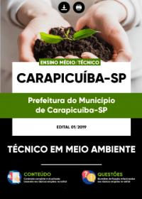 Técnico em Meio Ambiente - Prefeitura de Carapicuíba - SP