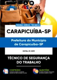 Técnico de Segurança do Trabalho - Prefeitura de Carapicuíba - SP