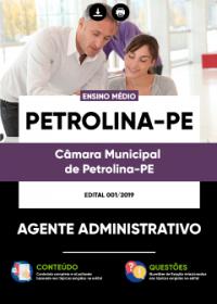 Agente Administrativo - Câmara de Petrolina - PE