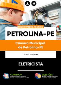 Eletricista - Câmara de Petrolina - PE
