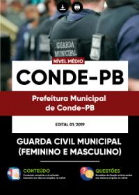 Guarda Civil Municipal - Prefeitura de Conde - PB