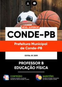 Professor B - Educação Física - Prefeitura de Conde - PB