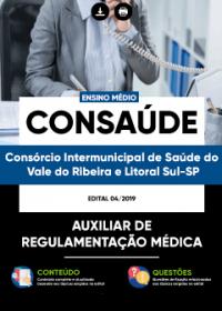 Auxiliar de Regulamentação Médica - CONSAÚDE