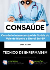 Técnico de Enfermagem - CONSAÚDE
