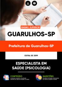 Especialista em Saúde - Psicologia - Prefeitura de Guarulhos - SP