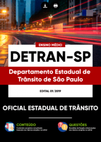 Oficial Estadual de Trânsito - DETRAN-SP