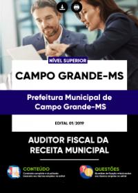 Auditor Fiscal da Receita Municipal - Prefeitura de Campo Grande - MS