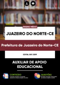 Auxiliar de Apoio Educacional - Prefeitura de Juazeiro do Norte - CE