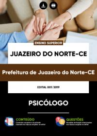 Psicólogo - Prefeitura de Juazeiro do Norte - CE