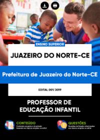 Professor de Educação Infantil - Prefeitura de Juazeiro do Norte - CE