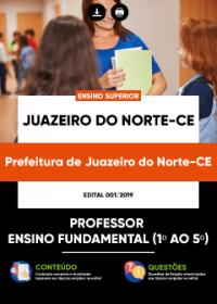 Professor do Ensino Fundamental - Prefeitura de Juazeiro do Norte - CE