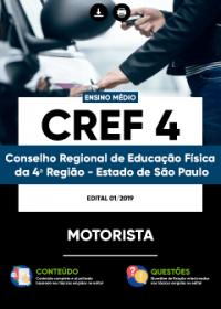 Motorista - CREF da 4ª Região - SP