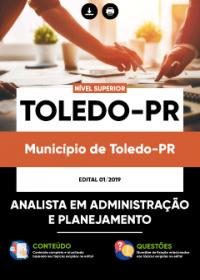 Analista em Administração e Planejamento - Prefeitura de Toledo - PR