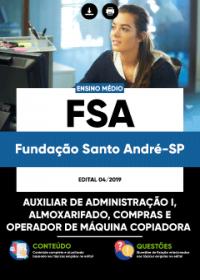 Auxiliar de Administração I - FSA