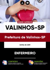 Enfermeiro - Prefeitura de Valinhos-SP