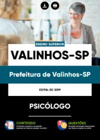 Psicólogo - Prefeitura de Valinhos-SP