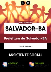 Assistente Social - Prefeitura de Salvador-BA