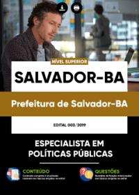 Especialista em Políticas Públicas - Prefeitura de Salvador-BA