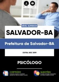 Psicólogo - Prefeitura de Salvador-BA
